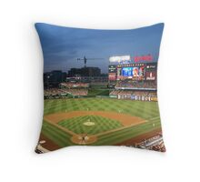 Baseball Stadium Throw Pillow