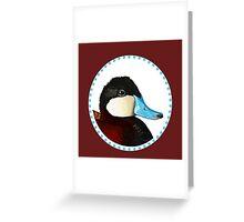 Ruddy Duck Greeting Card