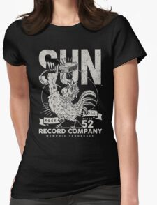Sun Records : Rock N Roll Since '52 Womens Fitted T-Shirt