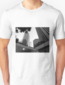 Black And White Cityscape 4  T-Shirt
