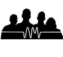 arctic monkeys silhouette  by catherinec98
