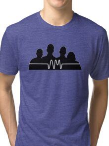 arctic monkeys silhouette  Tri-blend T-Shirt