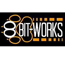 8Bit-Works LOGO Photographic Print