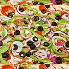 Pizza Perfect Pizza by Daniel  Oyvetsky
