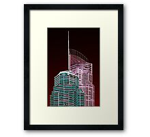 Another world—Gold Coast City Framed Print