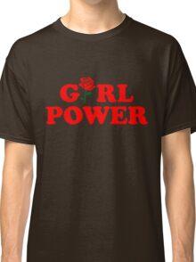 Girl Power Rose Cute Classic T-Shirt