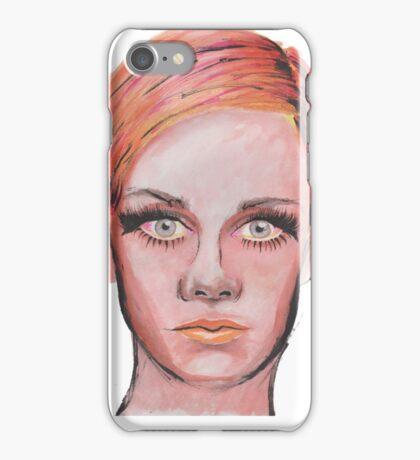 Elven Twiggy Ink Portrait iPhone Case/Skin