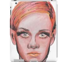 Elven Twiggy Ink Portrait iPad Case/Skin