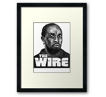 The Wire Gemma Hunt Framed Print