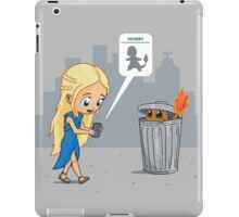 Have to Catch It iPad Case/Skin