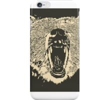 Grizzly Bear (Cards/Posters and Phone Cases) iPhone Case/Skin
