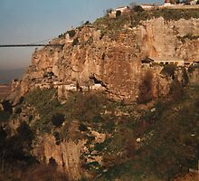 'Eagle's nest perched on a crag' Constantine, Algeria by indiafrank