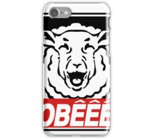 obeee iPhone Case/Skin