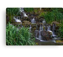 Regents park falls Canvas Print