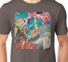 Abstract blown color Unisex T-Shirt