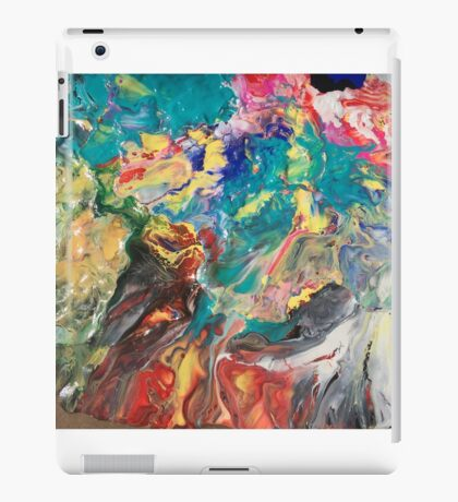Abstract blown color iPad Case/Skin