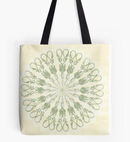 Scissor Circle Tote Bag