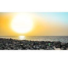 Dubai sunset Photographic Print