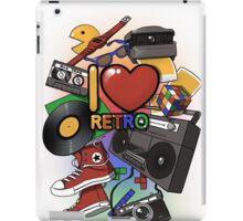 I Love Retro iPad Case/Skin