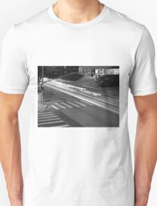 Black And White Cityscape 8  T-Shirt