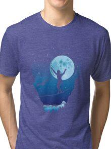 Moonlight slackline Tri-blend T-Shirt
