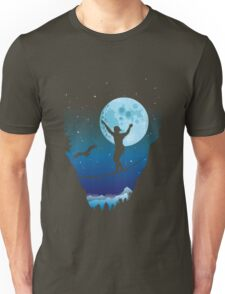 Moonlight slackline Unisex T-Shirt
