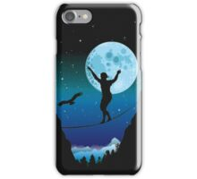 Moonlight slackline iPhone Case/Skin