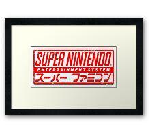 Japanese SNES Framed Print
