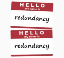Redundancy redundancy Kids Clothes