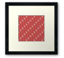 Arrows_Red Framed Print