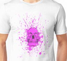 Skull: Purple Haze Unisex T-Shirt