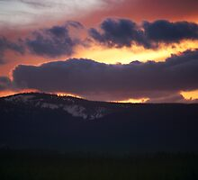 Burning Sky.  by Bill Lane
