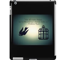 Bird or Cage? iPad Case/Skin