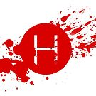 Comic Con Hall H Blood Splatter by mmmham