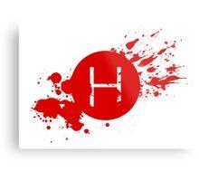 Comic Con Hall H Blood Splatter Metal Print