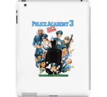 Police Academy 3 iPad Case/Skin