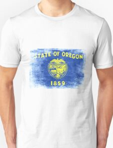 Oregon State Flag Distressed Vintage Shirt Unisex T-Shirt