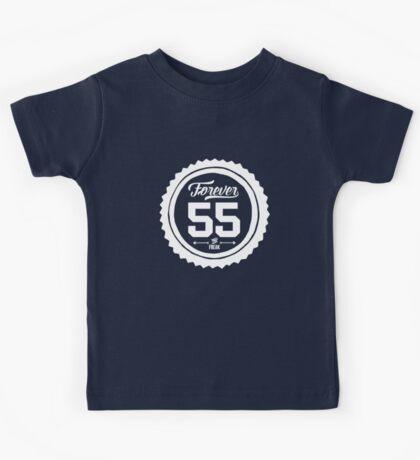 """Forever 55 Forever 55 """"The Freak"""" White Imprint Commemorative Art Kids Tee"""