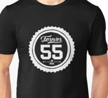 "Forever 55 Forever 55 ""The Freak"" White Imprint Commemorative Art Unisex T-Shirt"