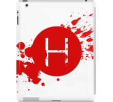 Comic Con Hall H Blood Splatter iPad Case/Skin