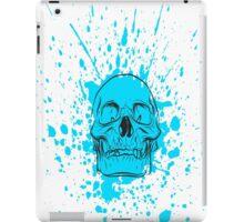 Skull: Cool Blue iPad Case/Skin