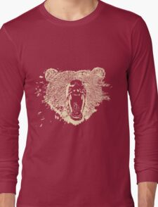 Grizzly Bear (Yes there's a difference) Long Sleeve T-Shirt