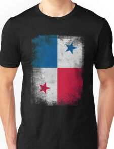 Panama Flag Proud Panamanian Vintage Distressed Shirt Unisex T-Shirt