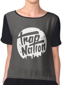 trap nation Chiffon Top