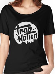 trap nation Women's Relaxed Fit T-Shirt