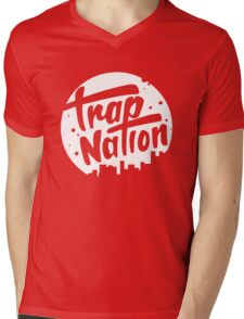 trap nation Mens V-Neck T-Shirt