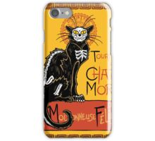 La Chat Mort iPhone Case/Skin