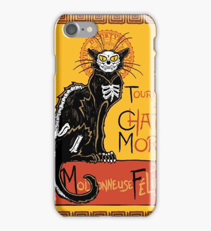 La Chat Mort iPhone Case/Skin