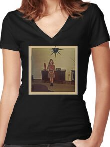 Brownie Women's Fitted V-Neck T-Shirt