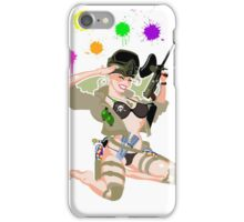 Paintball PinUp iPhone Case/Skin